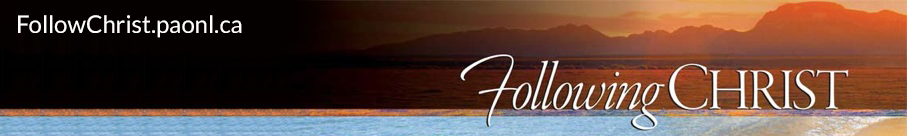 Follow Christ Banner